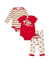 Baby Starters 3-pc. Smile Sock Monkey Pajama Set – Baby 3-18 Mos.