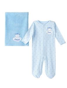 Baby Essential 2-pc. Bundle of Cuteness Sleeper & Blanket Set – Baby 0-9 Mos.