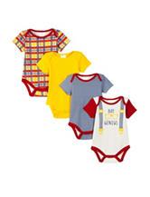 Baby Gear 4-pk. Baby Genius Bodysuits - Baby 0-9 Mos.