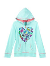 Wishful Butterfly Heart Hoodie – Girls 7-16