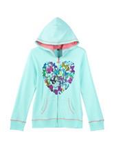 Wishful Butterfly Heart Hoodie – Girls 7-16