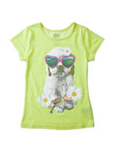 Twirl Sunglasses Dog T-Shirt – Girls 4-6x