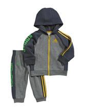 adidas®® 2-pc. Fleece Jacket & Pants Set – Baby 12-24 Mos.
