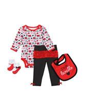 Baby Gear 4-pc. I'm So Lovable Bodysuit Set – Baby 0-12 Mos.