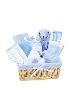 Trend Lab Blue Deluxe 12-pc. Gift Set Basket