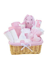 Trend Lab Pink Deluxe 12-pc. Gift Set Basket