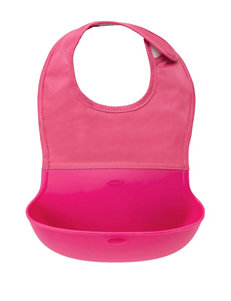 OXO Tot Pink Bibs & Burp Cloths
