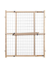 North States Supergate Extra Wide Wire Mesh Gate 29.5-50 Inches