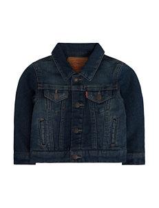 Levi's Dark Purple Lightweight Jackets & Blazers