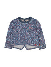 Levi's® Melissa Floral Print Top – Baby 12-24 Mos.