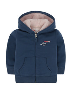 Levi's® Iced Blue Carrie Fleece Hoodie – Baby 12-24 Mo.