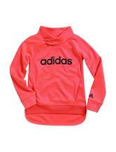 adidas® Fleece Hoody – Toddler & Girls 4-6x