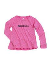 adidas® Logo Top – Toddler & Girls 4-6x