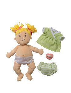 Manhattan Toy Baby Stella Blonde Soft Nurturing First Doll