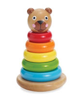 Manhattan Toy Brilliant Bear Magnetic Stack-Up Activity Toy
