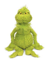 Manhattan Toy Dr. Seuss The Grinch Large Soft Toy