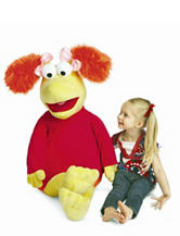 Manhattan Toy Fraggle Rock Red Jumbo Soft Toy
