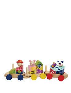 Manhattan Toy Stack & Pull Train Activity Toy