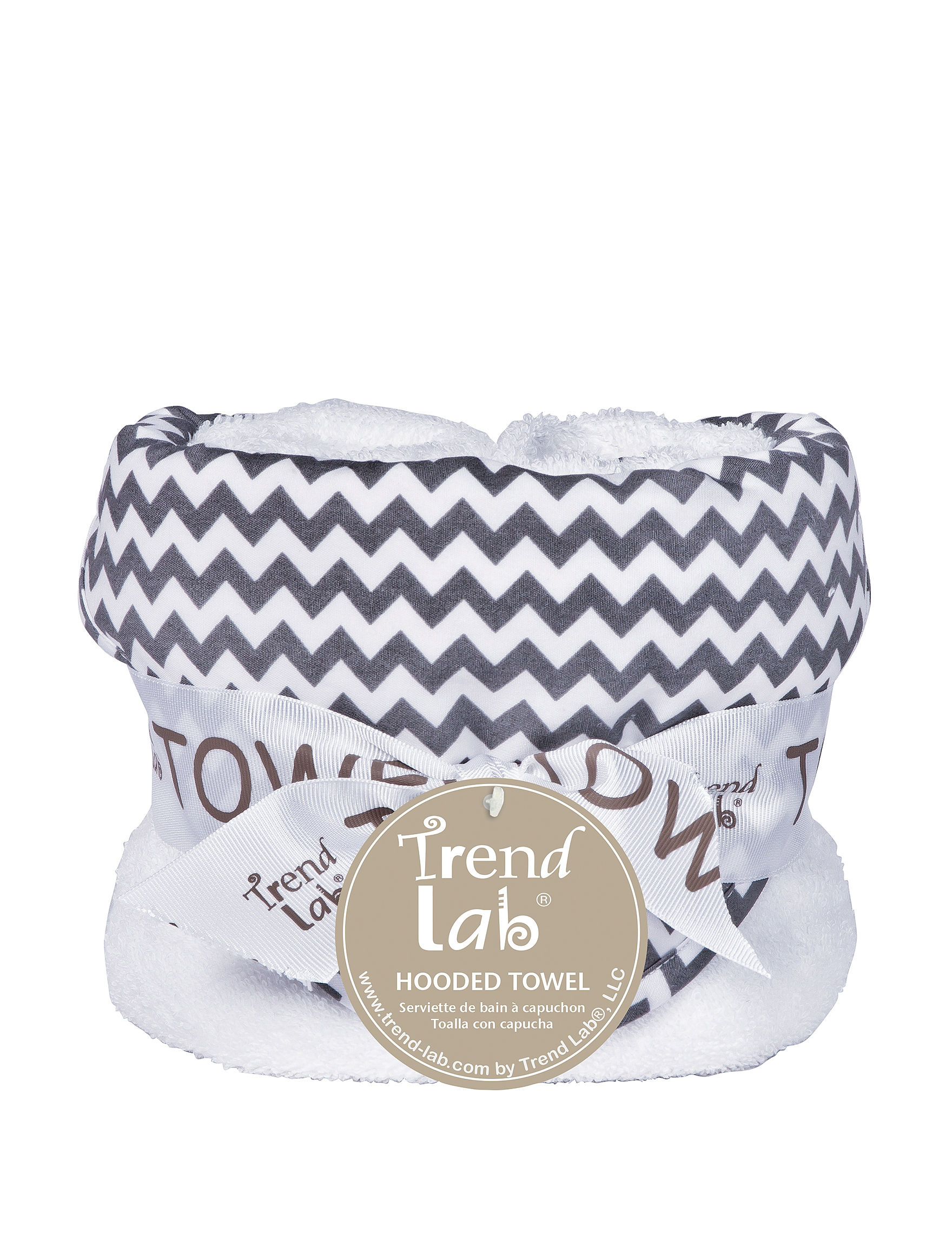 Trend Lab Grey Hooded Towels