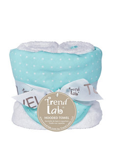 Trend Lab Mint Hooded Towels