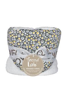 Trend Lab Grey Hooded Towels