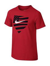 Nike® Red Americana Baseball T-shirt  – Boys 8-20