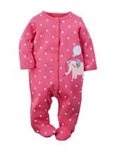 Carter's® Elephant Sleeper – Baby 0-9 Mos.