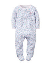 Carter's® Floral Print Sleeper – Baby 0-9 Mos.