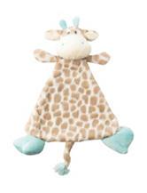 Nat & Jules Giraffe Blankie & Rattle