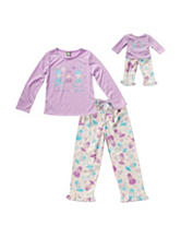 Dollie & Me 2-pc. Dance of the Ice Princess Pajama Set – Girls 4-14