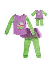 Dollie & Me 2-pc. Cupcake Cuties Pajama Set – Girls 4-14