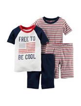 Carter's® 4-pc. Free to be Cool Pajamas Set – Toddler Boys