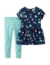 Carter's® 2-pc. Floral Top & Leggings Set – Baby 0-24 Mos.