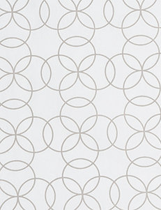 Trend Lab Gray & White Circles Changing Pad Cover