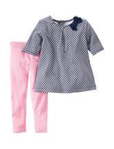 Carter's® 2-pc. Geo Print Top & Leggings Set - Baby 3-24 Mos.