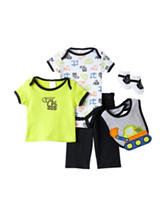 Baby Gear 5-pc. Tractor Print Pant Set - Baby 0-9 Mos.