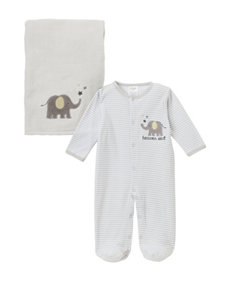 Baby Gear Grey Nightgowns & Sleep Shirts