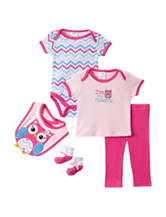 Baby Gear 5-pc. Pink Owl Layette Set – Baby 0-9 Mos.