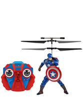 World Tech Toy Captain America Marvel IR Helicopter