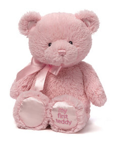 Gund Pink My First Teddy Bear