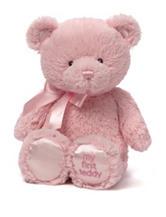 Gund Pink My First Teddy Bear