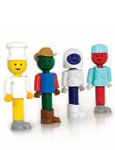 Guidecraft™ Better Builders® Career People