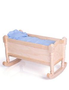 Guidecraft™  Doll Cradle – Natural