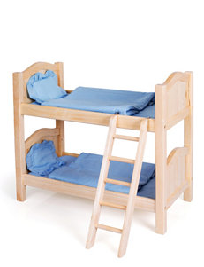 Guidecraft™  Doll Bunk Bed – Natural