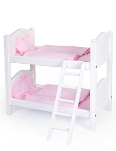 Guidecraft™  Doll Bunk Bed – White