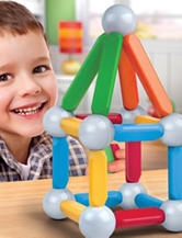 Discovery Kids 26-pc. Toy Magnetic Building Blocks