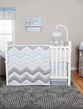 Trend Lab Blue Taffy Nursery Collection