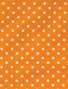 Trend Lab Orange Dot Crib Sheet