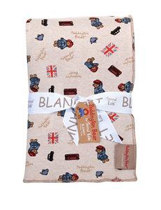 Trend Lab Paddington Bear Minky Knit Velvet Baby Blanket