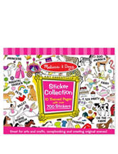 Melissa & Doug Pink Sticker Collection